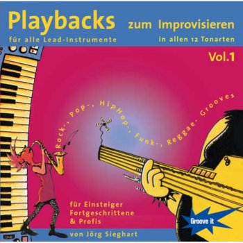Playbacks zum Improvisieren Jazz Vol.1 - In allen 12 Tonarten