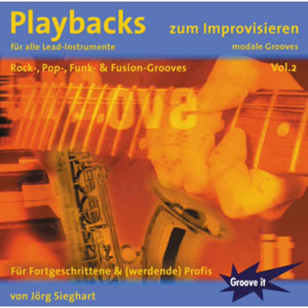 Playbacks zum Improvisieren Vol.2 - modale Grooves