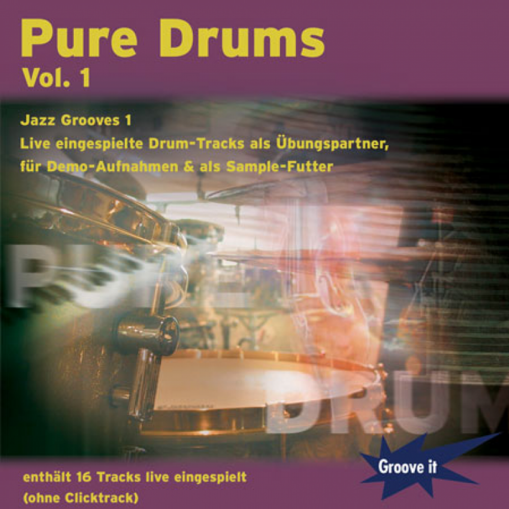 Pure Drums Vol.1 - Jazz Grooves 1